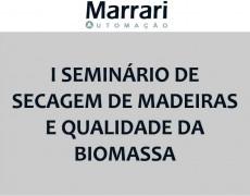 I SEMINÁRIO DE SECAGEM DE MADEIRAS E QUALIDADE DA BIOMASSA