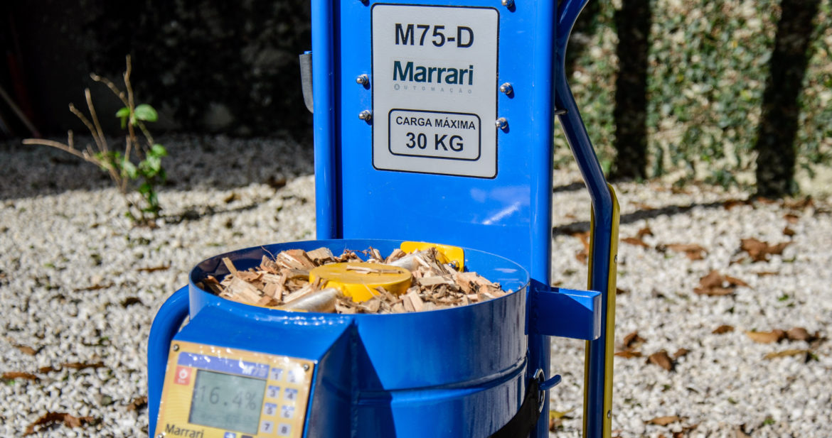 Biomass and Granulates Moisture and Density Meter - M75D