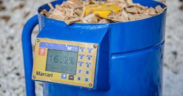 Medidor de Umidade para Biomassa e Granulados - M75