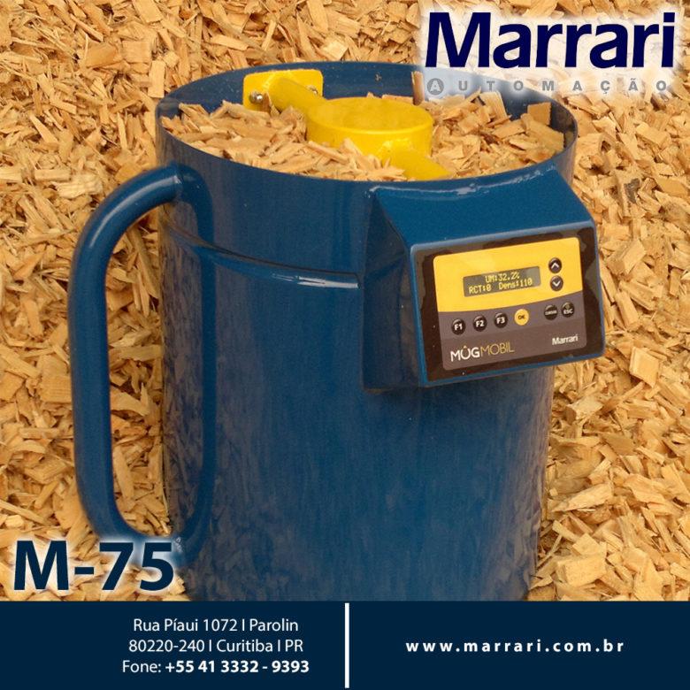 Medidor de Umidade para Biomassa M75