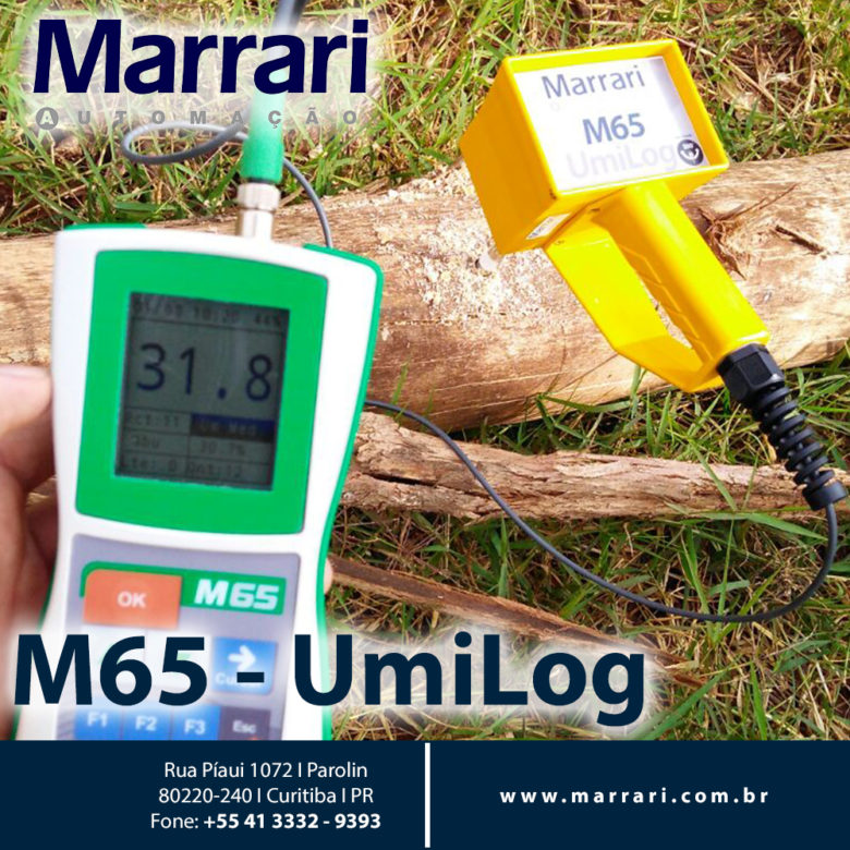 Medidor de Umidade para Toras M65